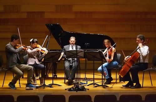 AWO Chamber Ensemble perform Brahms